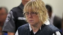 PHOTO: Joyce Mitchell appears before Judge Mark Rogers in City Court in this file photo, June 15, 2015, in Plattsburgh, N.Y.