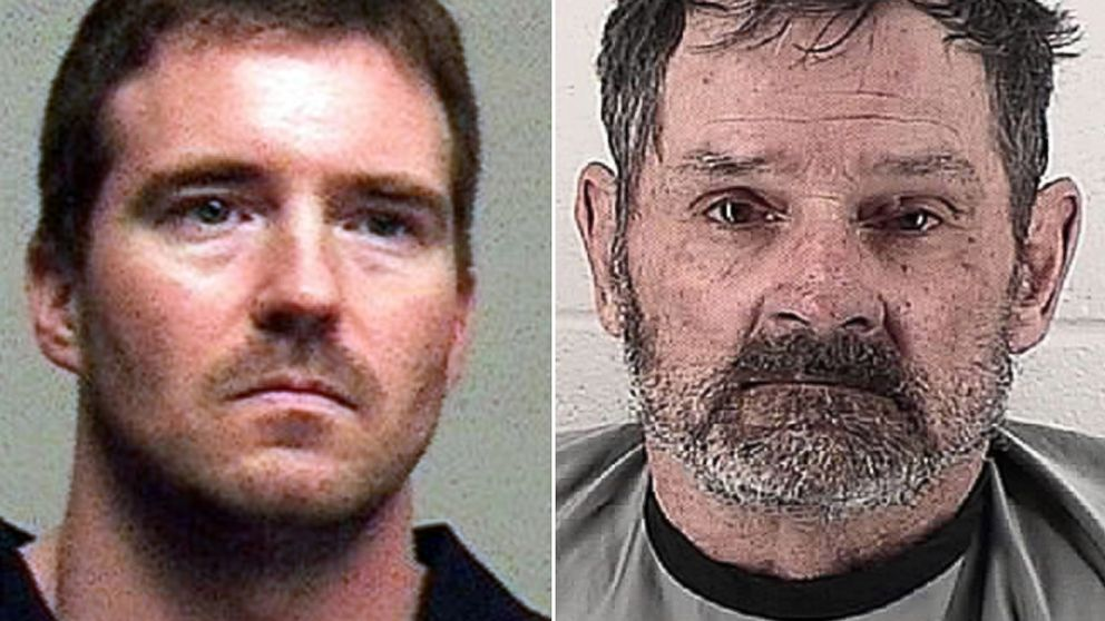 PHOTO: Left, an undated file photo provided by the Spokane County Sheriff shows Bombing Kevin William Harpham; right, in this undated photo provided by the Johnson County Sheriff, Frazier Glenn Cross, Jr., appears in a booking photo.