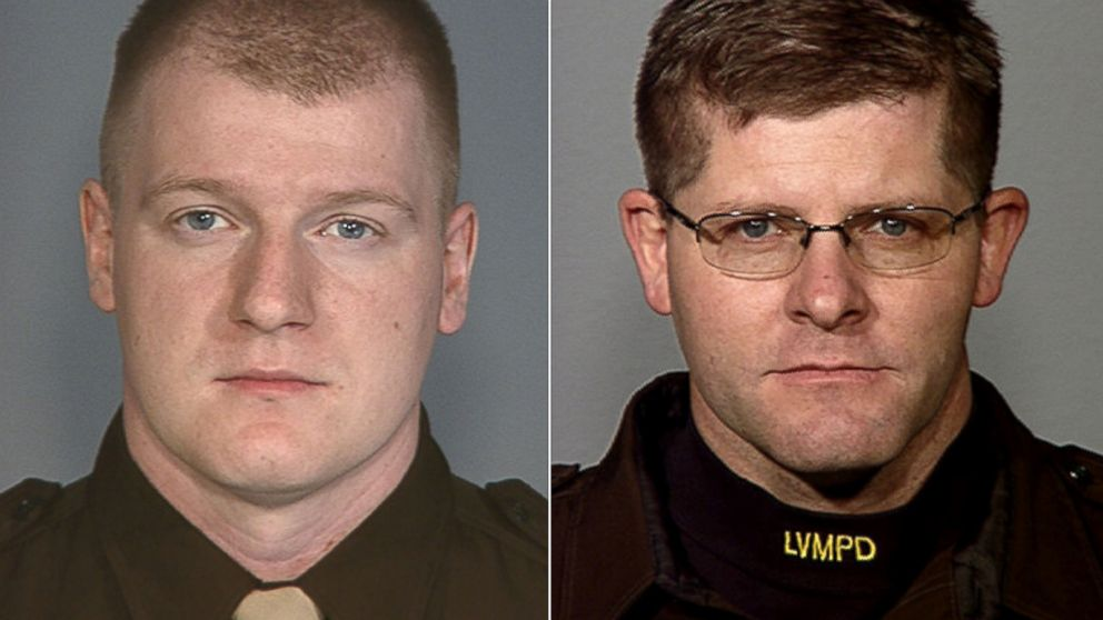 PHOTO: Police officers Igor Soldo (left) and Alyn Beck were identified as the victims in a Las Vegas Shooting, June 8, 2014.