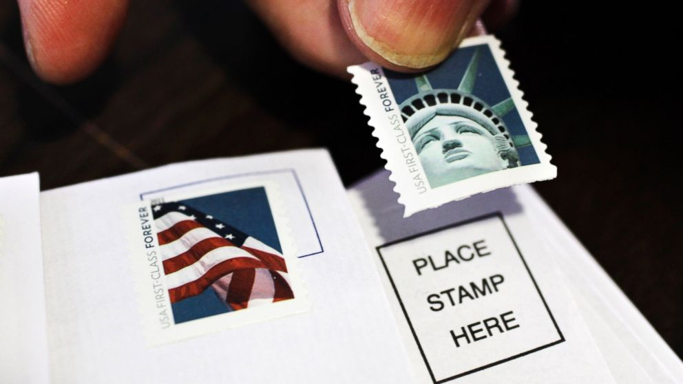 price of mailing a letter dropping to 47 cents starting this weekend abc news