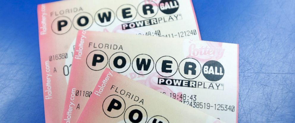 PHOTO: Purchased Powerball lottery tickets are shown, Jan. 12, 2016, in Miami.