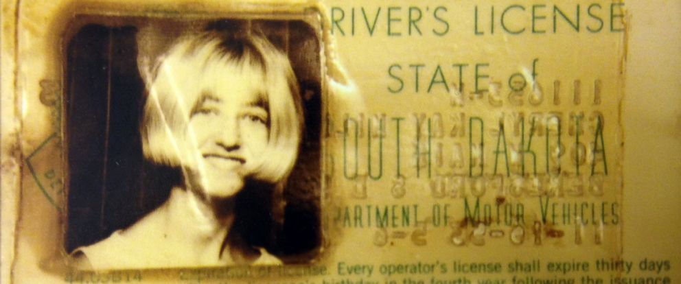 PHOTO: Cheryl Millers drivers license was recovered from the wreckage of the missing car found in September, 2013.