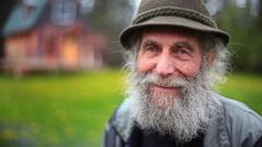 PHOTO: Burt Shavitz is seen on his property in Parkman, Maine in this May 23, 2014 file photo.