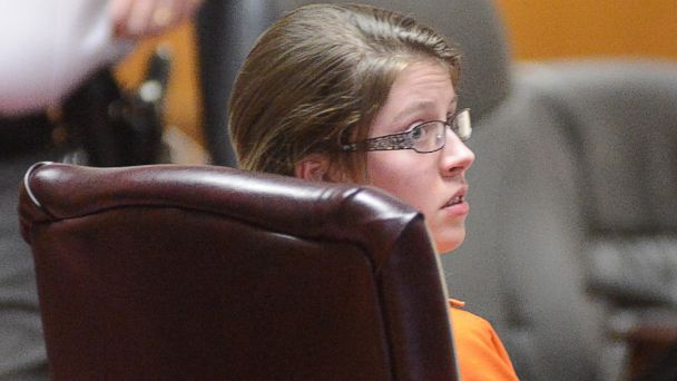 PHOTO: Shelia Eddy of Morgantown, W.Va., is shown in court, Jan. 24, 2014, in Monongalia County Circuit Court.