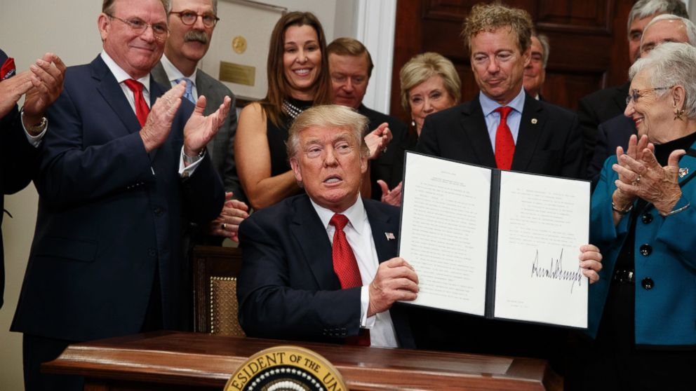 The Note: Trump takes a chainsaw to health care