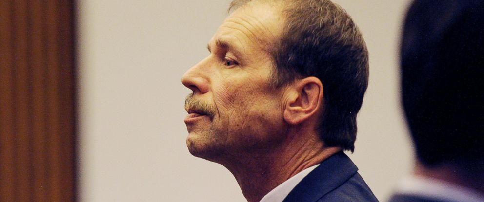 PHOTO: Theodore Wafer pauses at the end of Day 3 of his trial, July 28, 2014, Detroit.