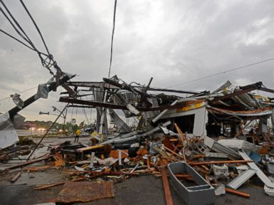 Survivors Dodge Tornadoes in Basements, Restaurant Cooler