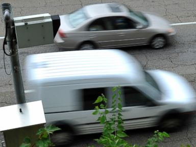 PHOTO: Cars move past a traffic camera on Sep. 6, 2011 in Knoxville, Tenn.