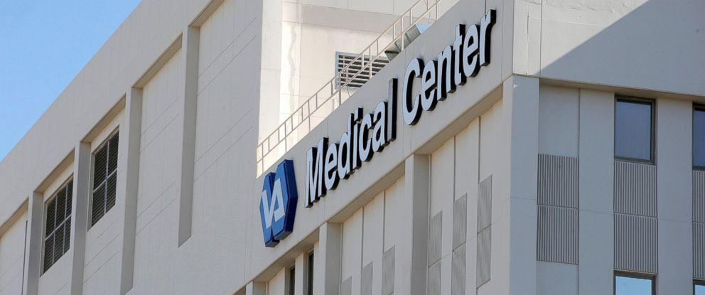 PHOTO: The Phoenix VA Health Care Center is seen here, April 28, 2014.