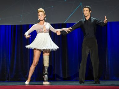 Boston Bomb Victim Dances Her Way Back Despite Prosthetic