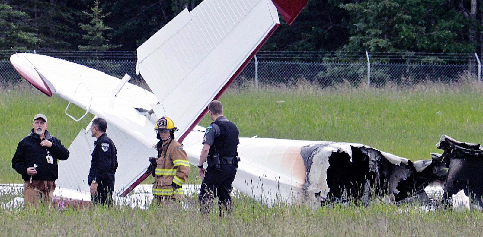 PHOTO: Fixed-Wing Aircraft Crashes in Alaska
