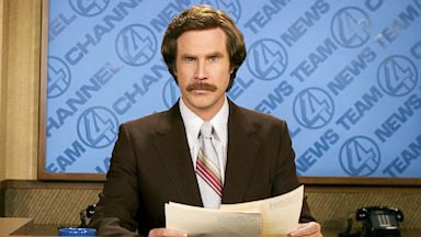 PHOTO: will ferrell, ron burgundy, anchorman