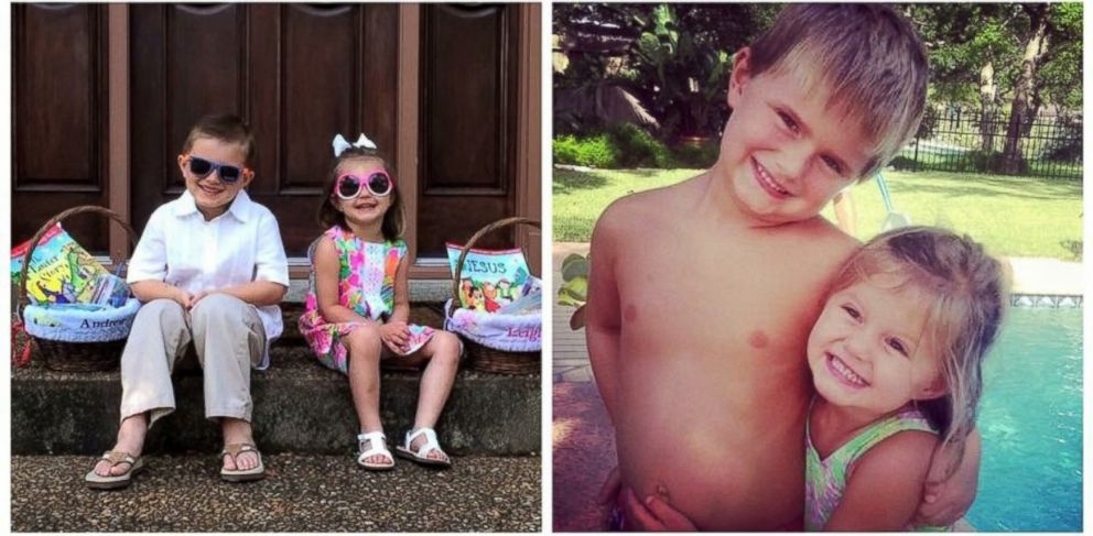 PHOTO: Andrew, 6, and Leighton McComb, both have been missing from Wimberley, Texas since May 24, 2015.