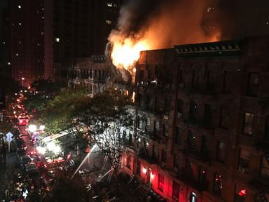 NYC Firefighter Pulls Off Dramatic Rescue From 6-Alarm Blaze That Killed 1