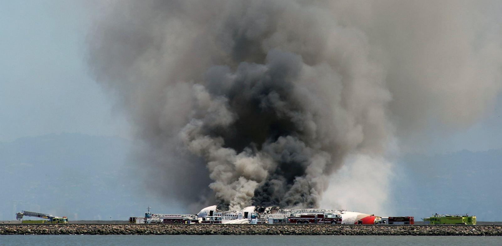 PHOTO: Asiana flight crashed at San Francisco Airport