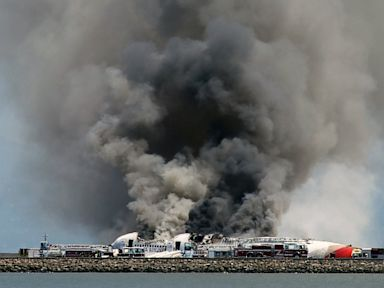 PHOTO: Asiana flight crashed at San Francisco Airport