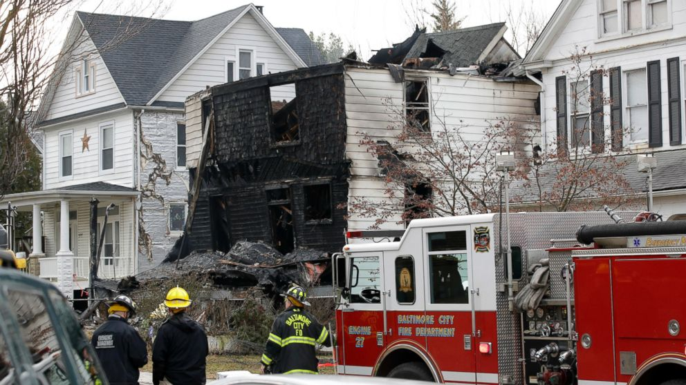 One child dead, five others presumed dead in Baltimore house fire
