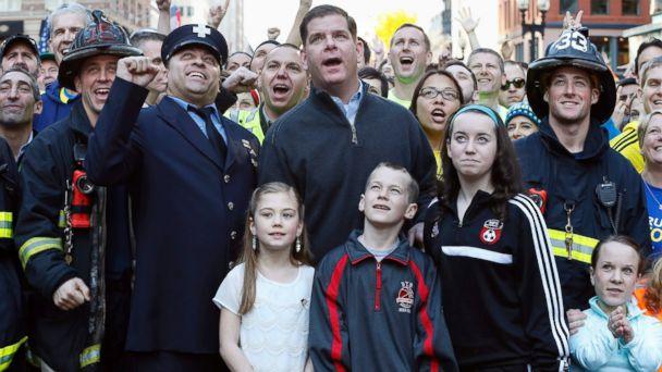 AP boston marathon bombing anniversary clsoeup jt 140412 16x9 608 Thousands Turn Out for Boston Marathon Sports Illustrated Cover