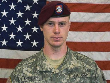 Bergdahl Saluted When He Arrived Back in the US