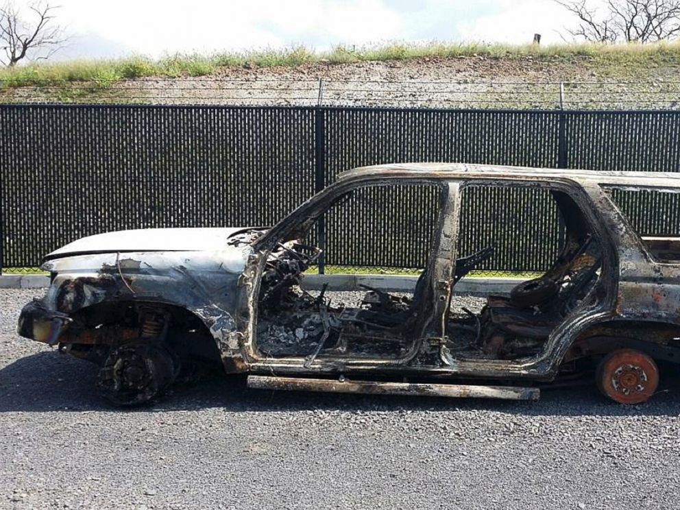 PHOTO: This undated photo released by the Maui Police Department shows the drivers side view of a vehicle belonging to missing pregnant woman Carly Scott.