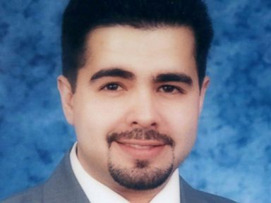 PHOTO: An official portrait of Daniel Crespo, the mayor of the City of Bell Gardens hangs at the citys police station in Bell Gardens, Calif., Sept. 30, 2014.