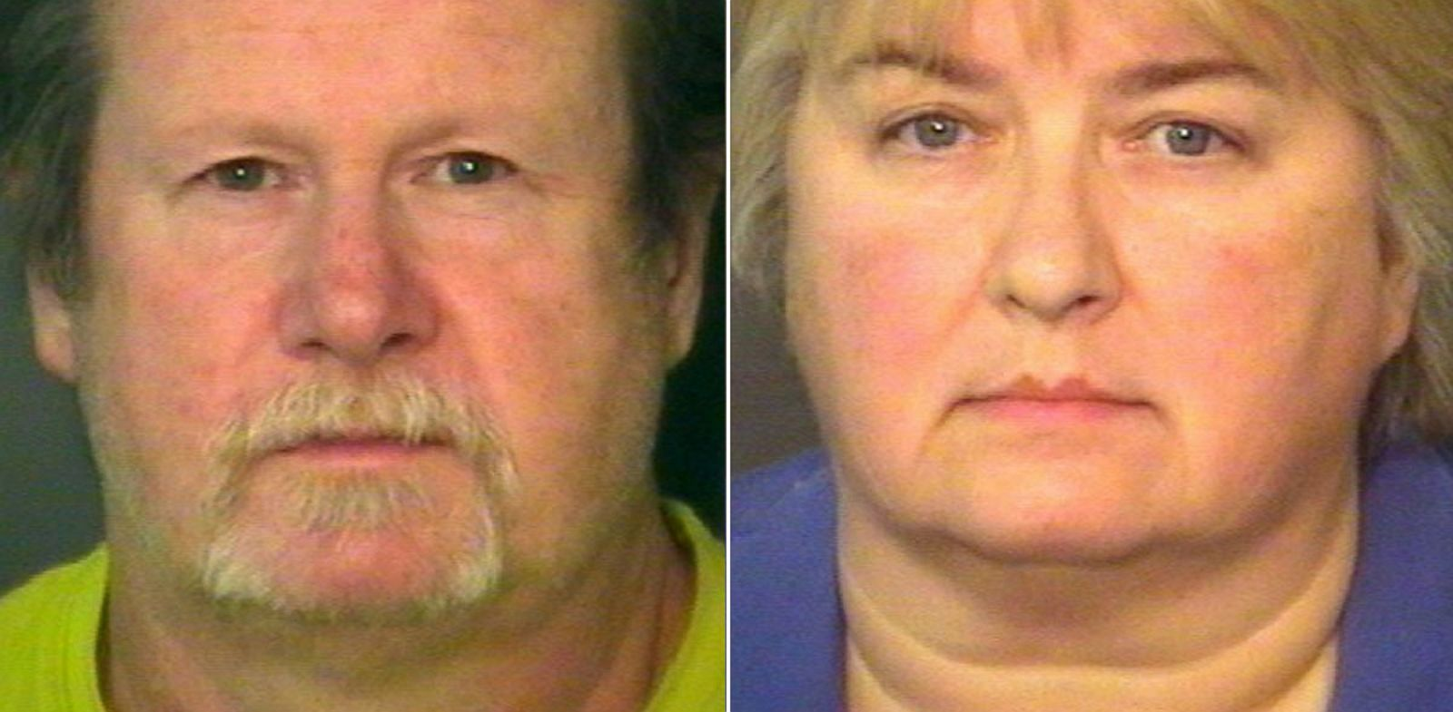 PHOTO: From left, Dorian Lee Harper and Wanda Sue Larson are pictured in undated booking photos.