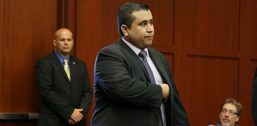 PHOTO: George Zimmerman enters the courtroom for his trial in Sanford, Fla., July 13, 2013.