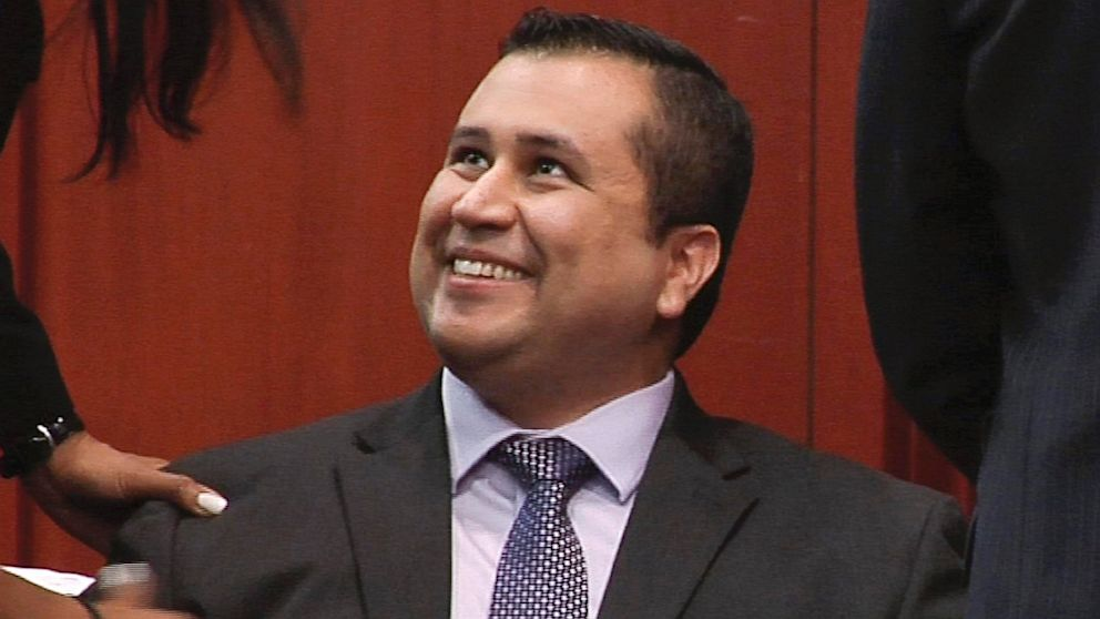 PHOTO: George Zimmerman smiles after a not guilty verdict