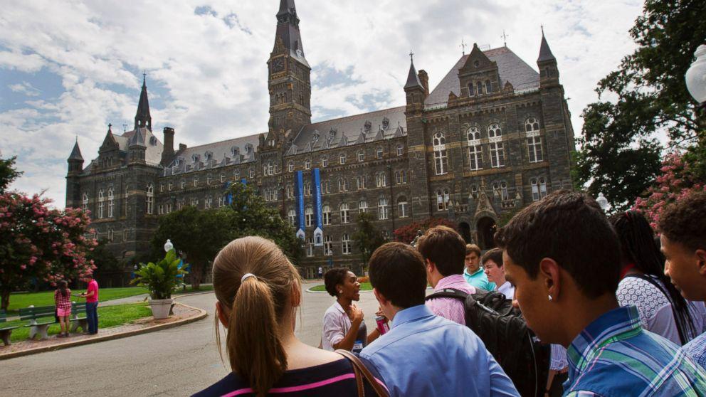 Georgetown application essay video