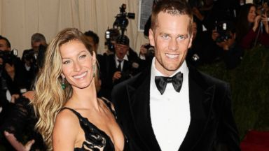 "PHOTO: Gisele Bundchen and Tom Brady attend The Metropolitan Museum of Arts Costume Institute benefit gala celebrating ""Charles James: Beyond Fashion, "" May 5, 2014, in New York."