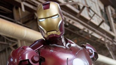 "PHOTO: Iron Man is shown in his Mark III armor in a scene from  ""Iron Man."""