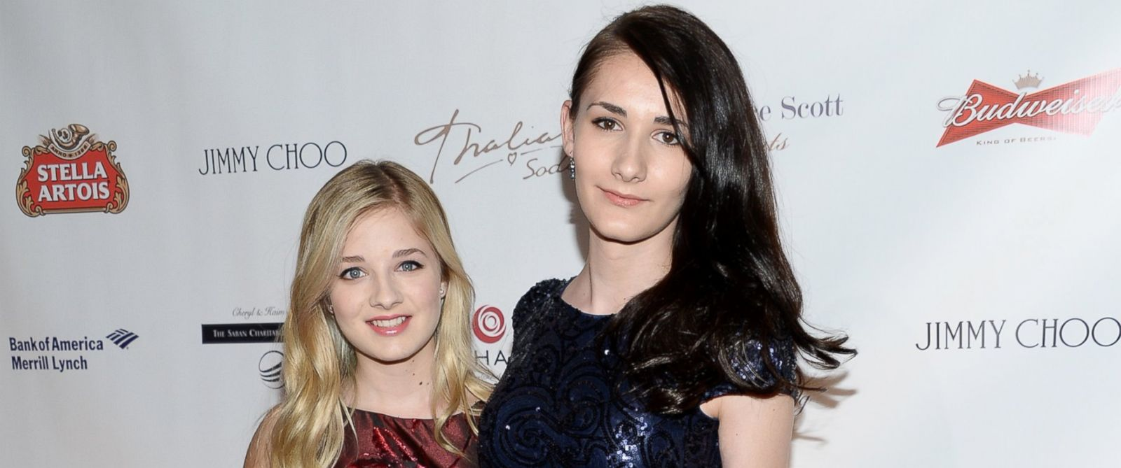 PHOTO: Singer Jackie Evancho, left, and her sister Juliet Evancho attend the Global Lyme Alliance Inaugural Gala at Cipriani 42nd Street, Oct. 8, 2015, in New York.