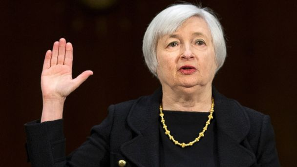 AP janet yellen tk 140106 16x9 608 Janet Yellen Confirmed as First Woman to Lead Fed