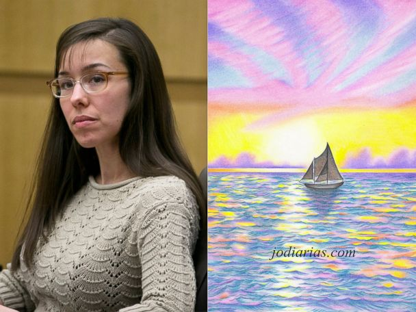 AP jody arias art hero split jt 131017 v4x3 4x3 608 Jodi Arias Selling Limited Edition Prison Prints