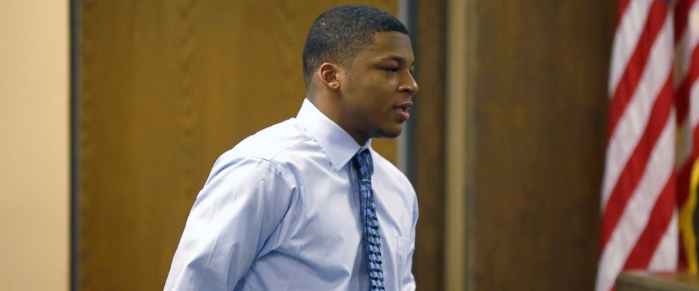 PHOTO: Malik Richmond, 18, is returning to his Steubenville, Ohio high school football team after serving over nine months after being convicted of rape in a 2012 incident.