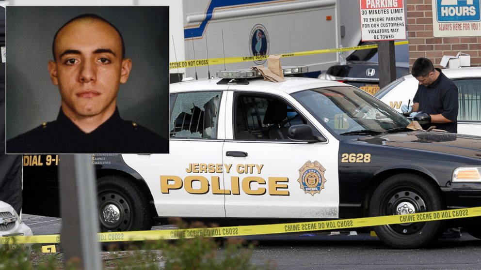 PHOTO: Officer Melvin Santiago was shot in the head while still in his police vehicle as he and his partner responded to an armed robbery call at a Walgreens Pharmacy at about 4.a.m., Jersey City Mayor Steven Fulop said in a statement.