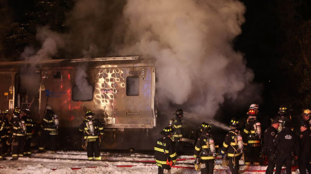 'Numerous' Fatalities in Metro-North Train Collision, Fire
