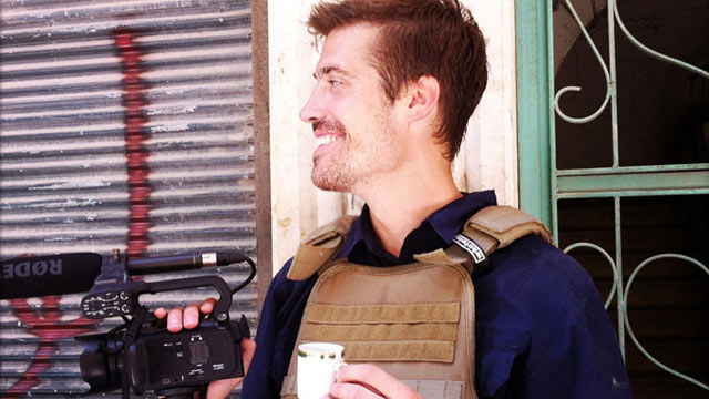 PHOTO: This photo posted on the website freejamesfoley.org shows journalist James Foley in Aleppo, Syria, in July, 2012.