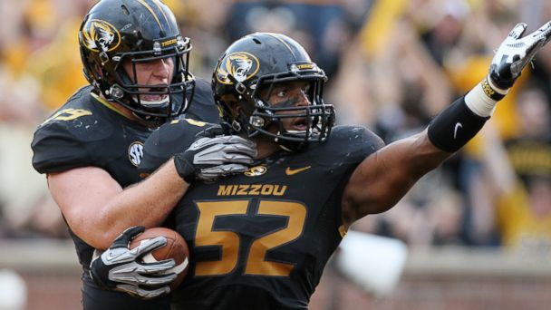 AP missouri michael sam tk 140210 16x9 608 Missouri Football Players, Students Kept Michael Sams Secret