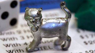 PHOTO: The newest Monopoly token, a cat,