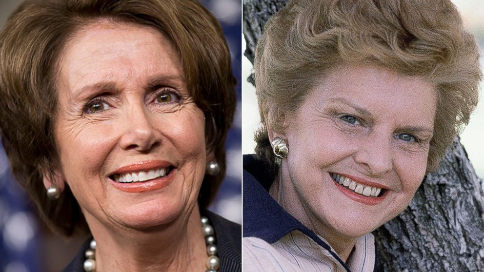 PHOTO: Nancy Pelosi and Betty Ford set to be inducted into the National Womenss Hall of Fame