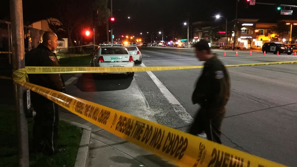 California cop fatally shot by suspect threatening suicide abc news - Police officer in california ...