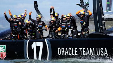 PHOTO: Oracle Team USA