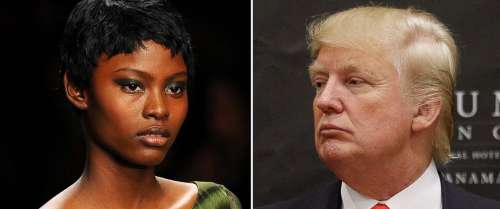 PHOTO: Alexia Palmer says she was recruited by Trumps modeling agency when she was 17 years old.