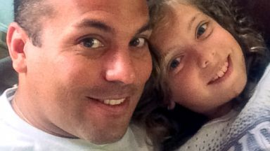 PHOTO: Ommy Irizarry and his nine-year-old daughter Oceana Irizarry of Fort Stewart, Georgia are seen in this July 20, 2014 photo provided by the Irizarry and Power families.