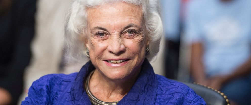 PHOTO:Former Supreme Court Justice Sandra Day OConnor is seen in this file photo, July 25, 2012.