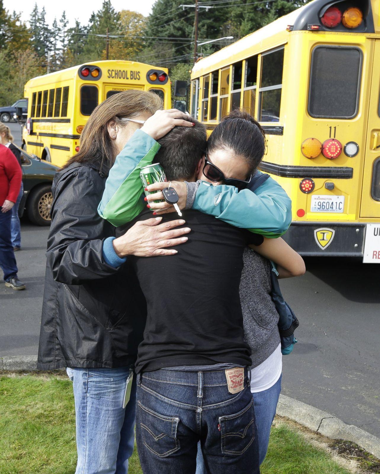 Washington High School Shooting Photos