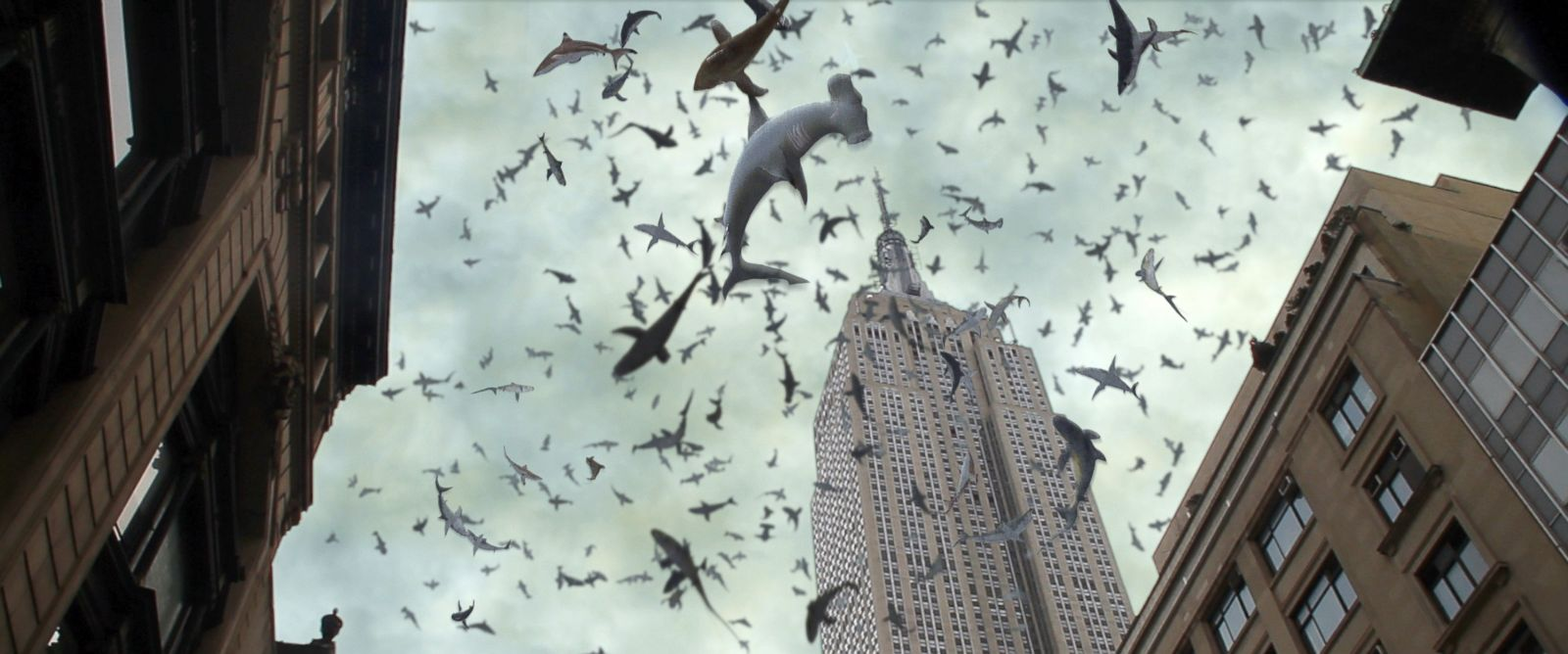 "PHOTO: A scene from ""Sharknado 2: The Second One."""
