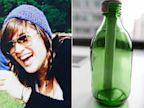 PHOTO: Sidonie Fery and bottle she placed a note inside found after Superstorm
