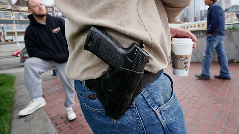 PHOTO: Starbucks To Ban Guns In Seattle